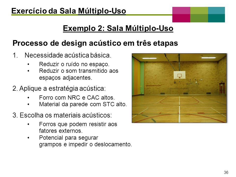 Exemplo 2: Sala Múltiplo-Uso