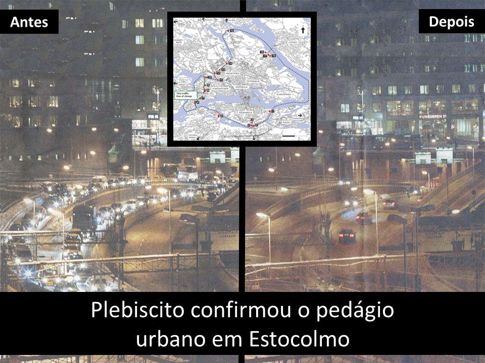 Plebiscito confirmou o pedágio