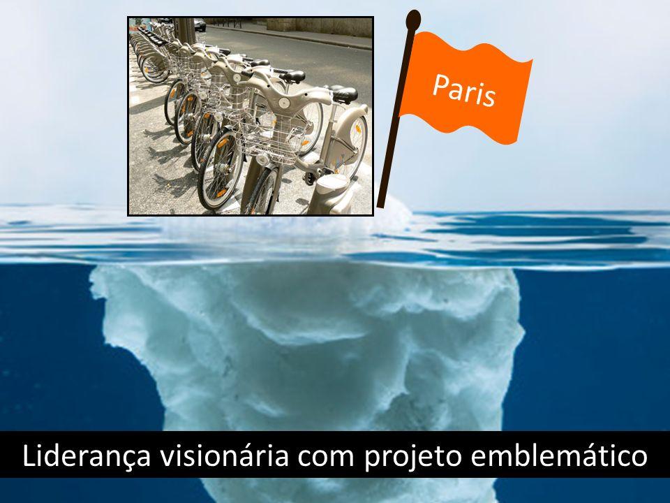 Liderança visionária com projeto emblemático