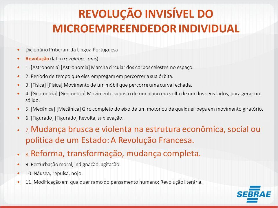 REVOLUÇÃO INVISÍVEL DO MICROEMPREENDEDOR INDIVIDUAL