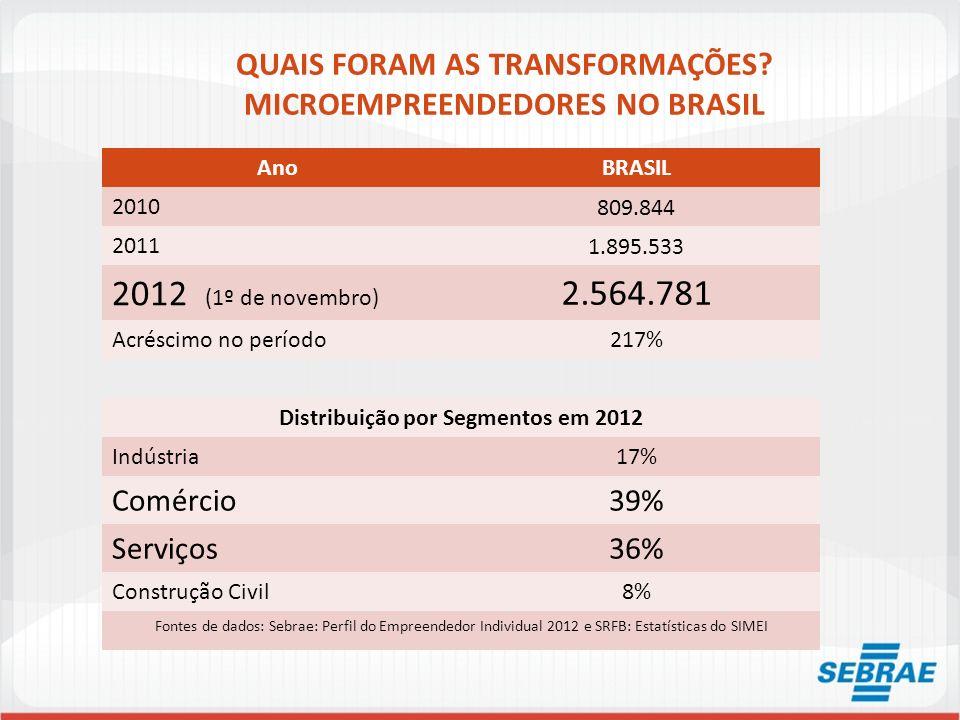 QUAIS FORAM AS TRANSFORMAÇÕES MICROEMPREENDEDORES NO BRASIL
