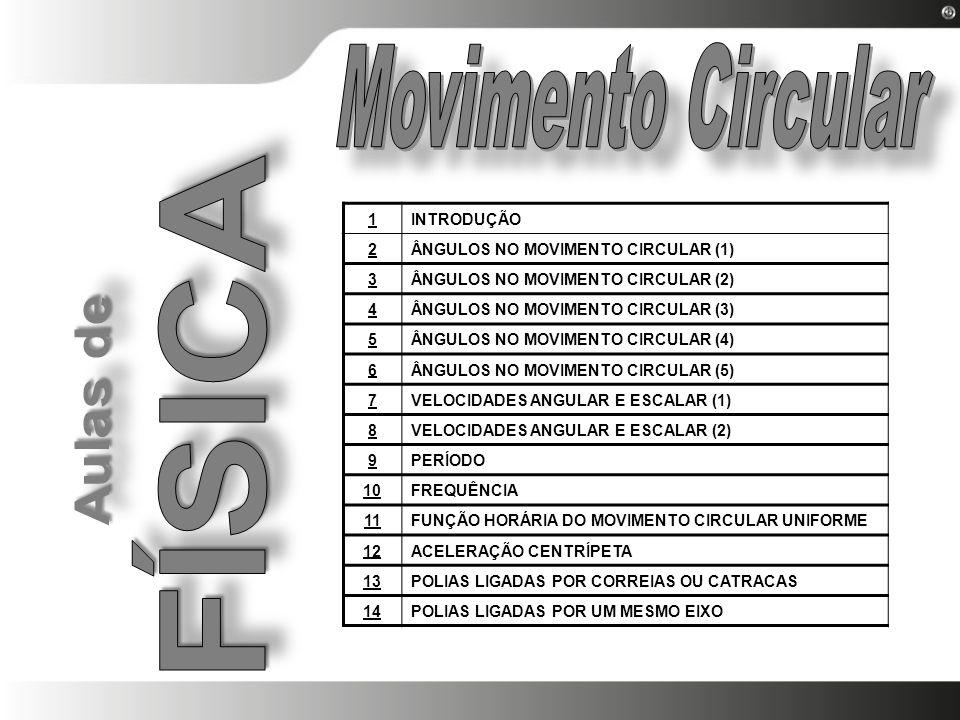 Movimento Circular FÍSICA 1 INTRODUÇÃO 2