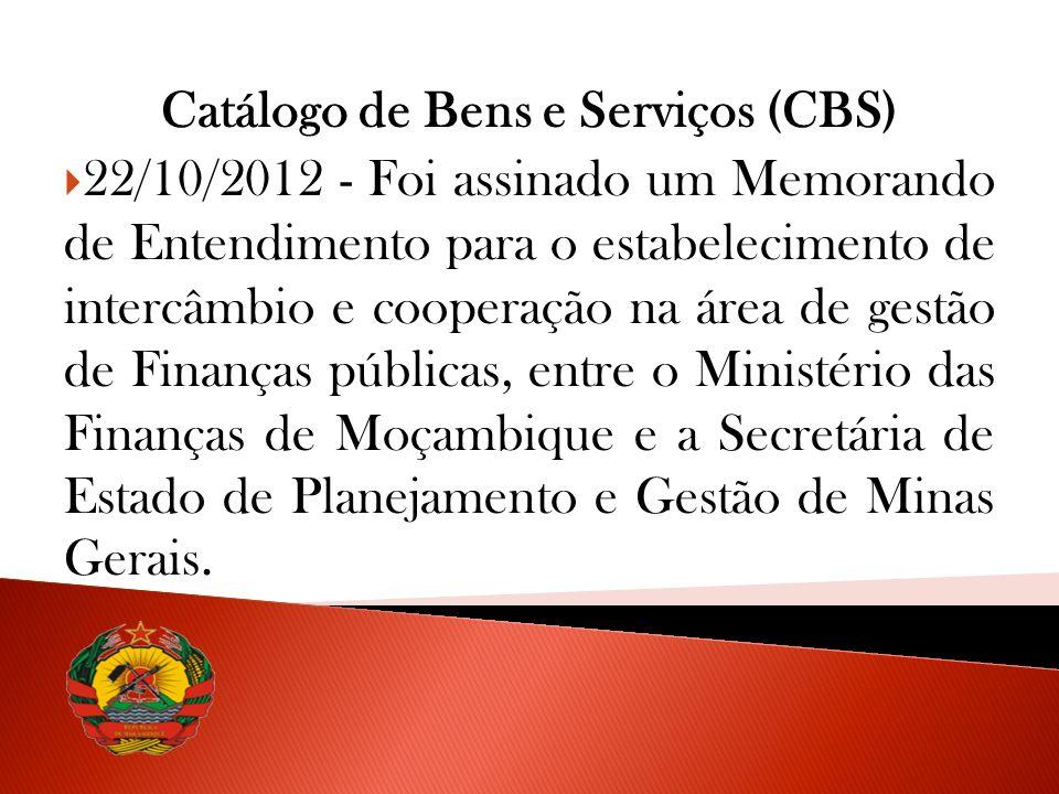 Catálogo de Bens e Serviços (CBS)