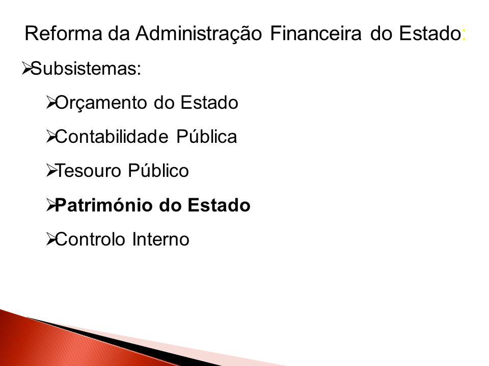 Reforma da Administração Financeira do Estado: