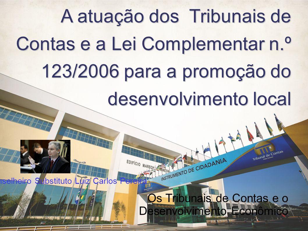 A atuação dos Tribunais de Contas e a Lei Complementar n