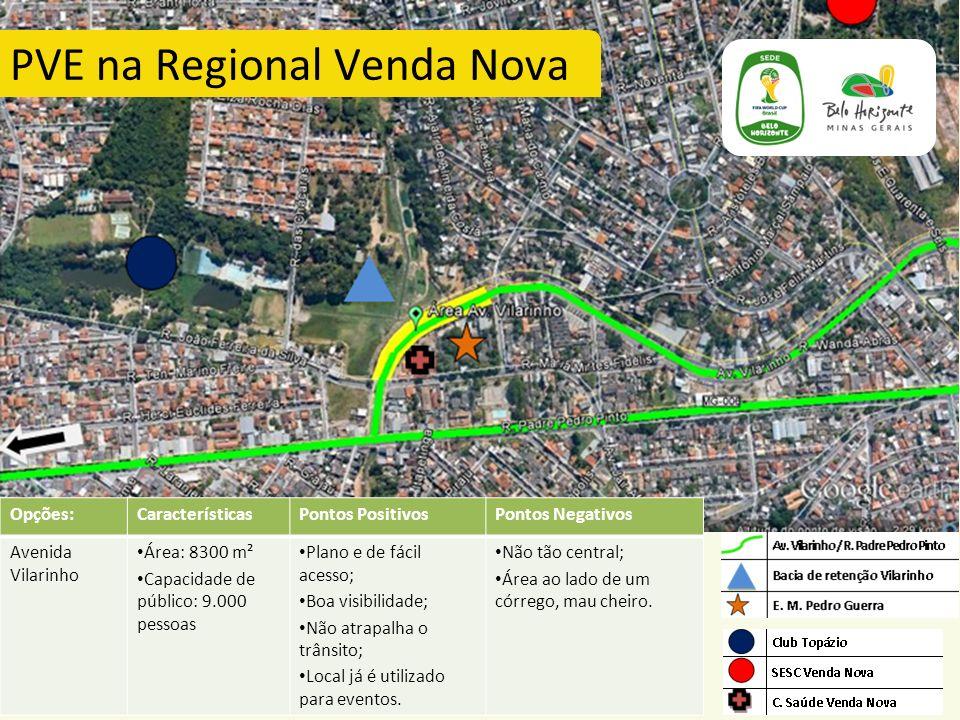 PVE na Regional Venda Nova