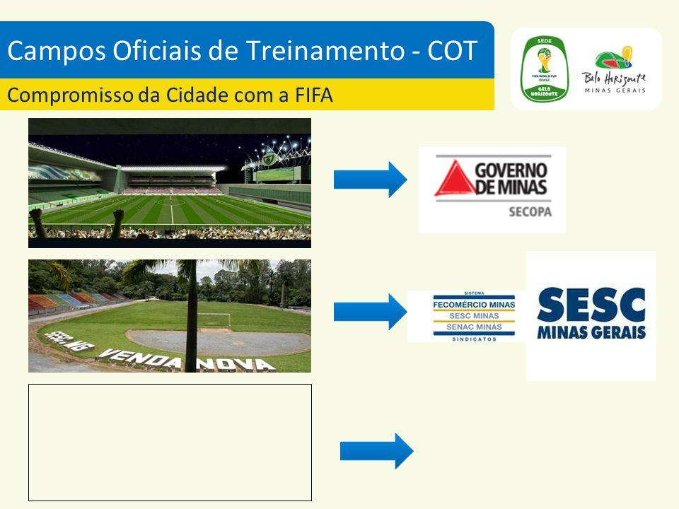 Campos Oficiais de Treinamento - COT