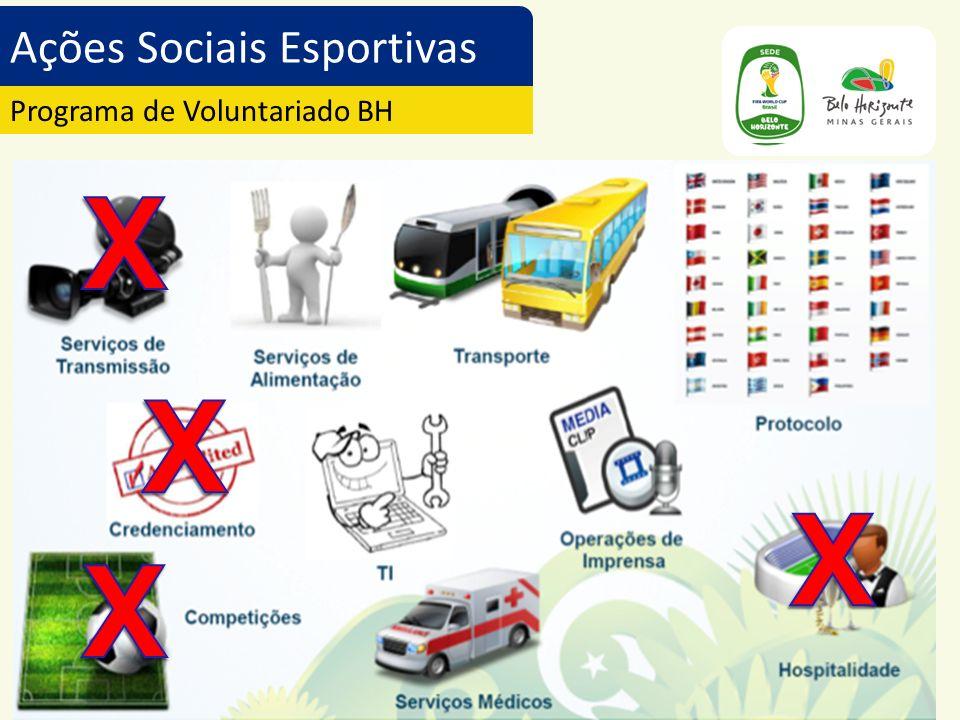 Ações Sociais Esportivas