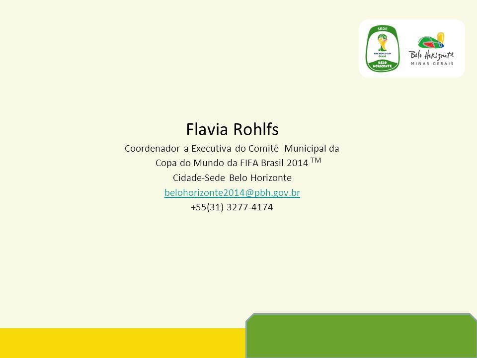 Flavia Rohlfs Coordenador a Executiva do Comitê Municipal da