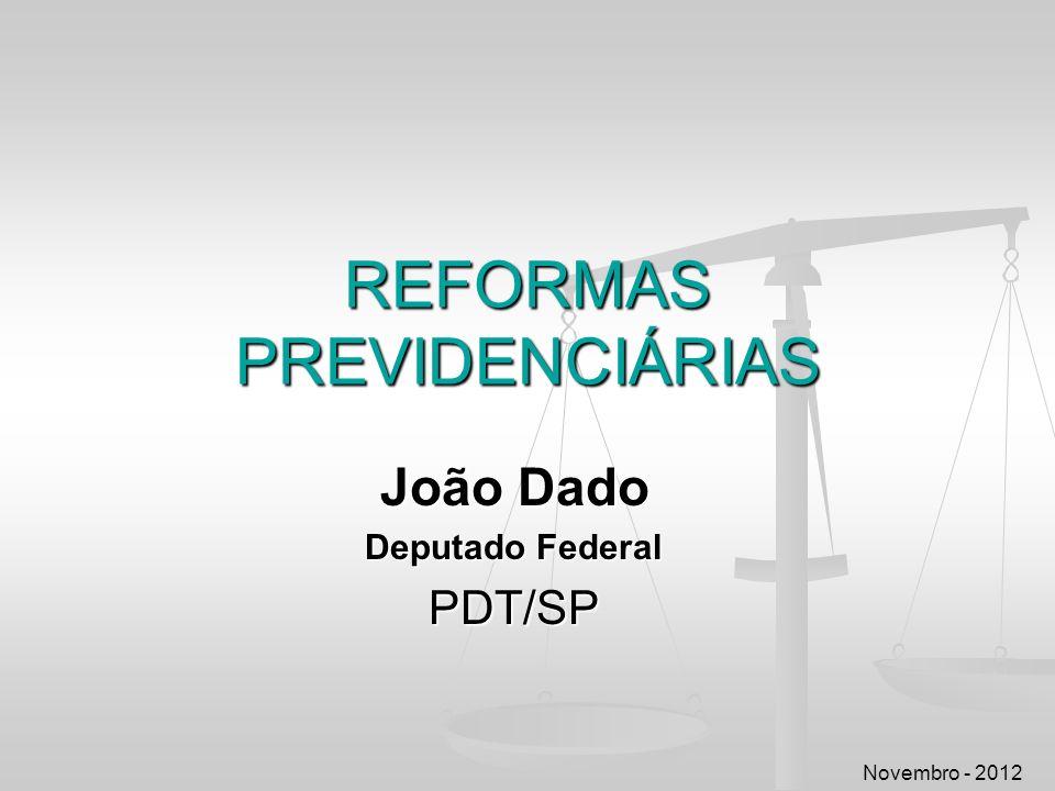 REFORMAS PREVIDENCIÁRIAS