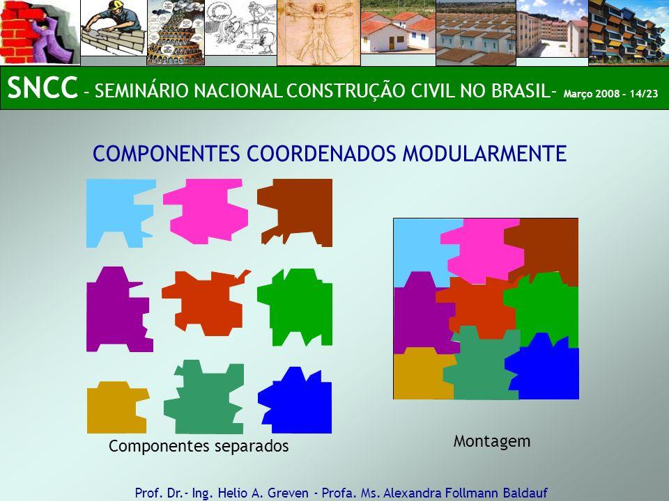 SNCC – SEMINÁRIO NACIONAL CONSTRUÇÃO CIVIL NO BRASIL- Março 2008 - 14/23