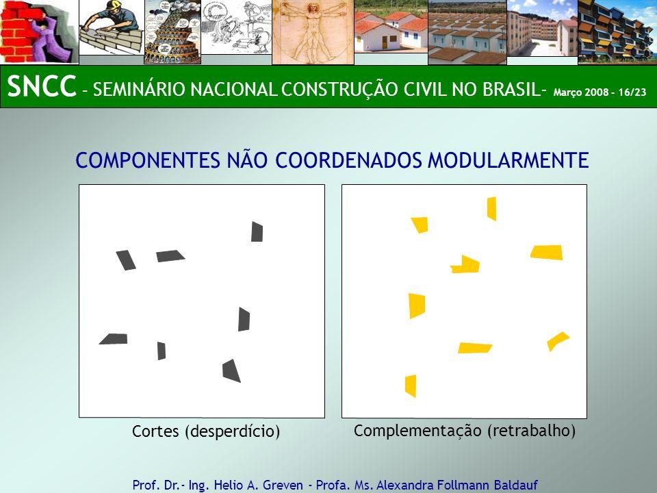 SNCC – SEMINÁRIO NACIONAL CONSTRUÇÃO CIVIL NO BRASIL- Março 2008 - 16/23