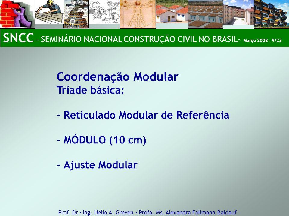 SNCC – SEMINÁRIO NACIONAL CONSTRUÇÃO CIVIL NO BRASIL- Março 2008 - 9/23