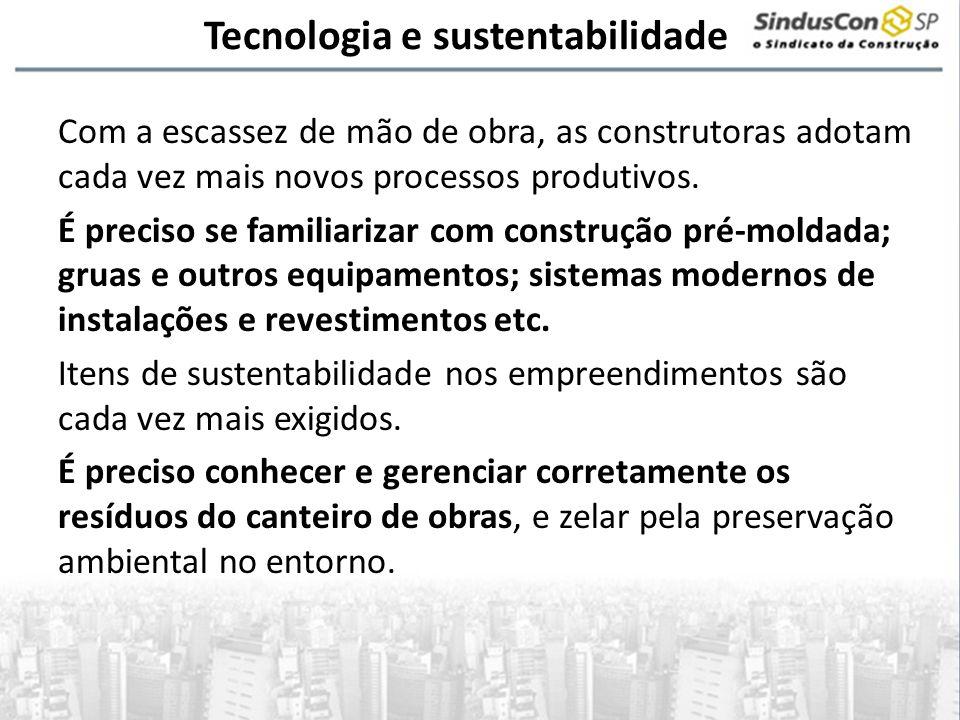 Tecnologia e sustentabilidade