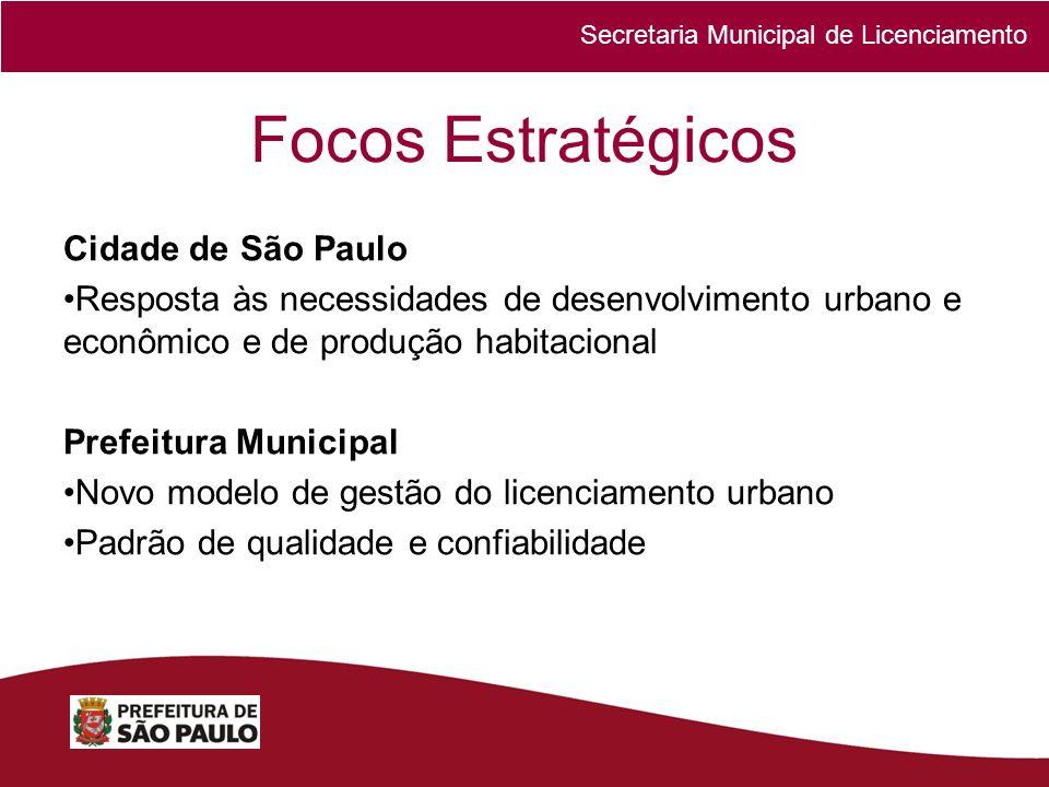 Focos Estratégicos Cidade de São Paulo