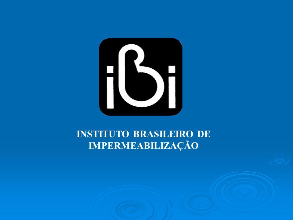 INSTITUTO BRASILEIRO DE IMPERMEABILIZAÇÃO
