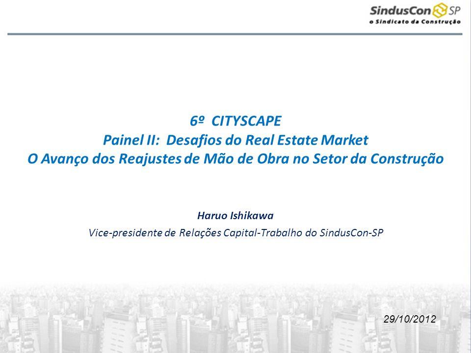 Vice-presidente de Relações Capital-Trabalho do SindusCon-SP