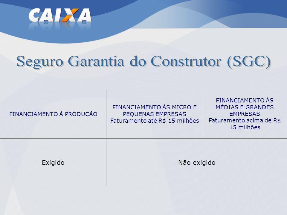 Seguro Garantia do Construtor (SGC)