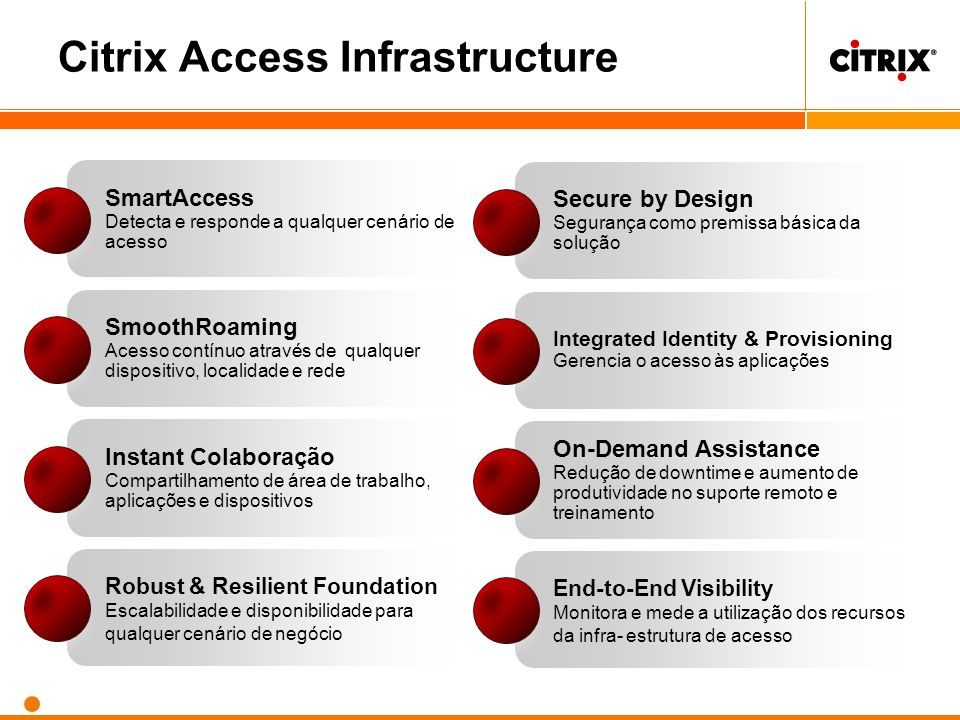 Citrix Access Infrastructure