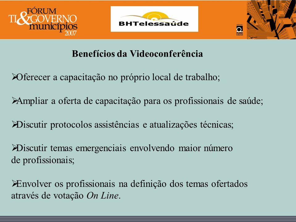 Benefícios da Videoconferência