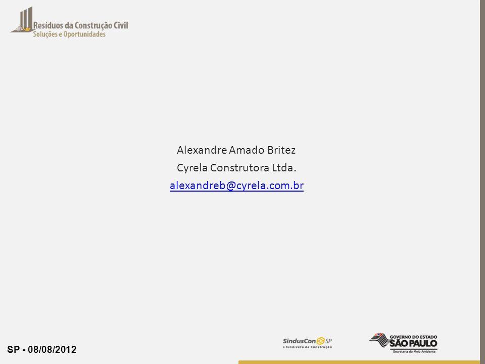 Alexandre Amado Britez Cyrela Construtora Ltda.