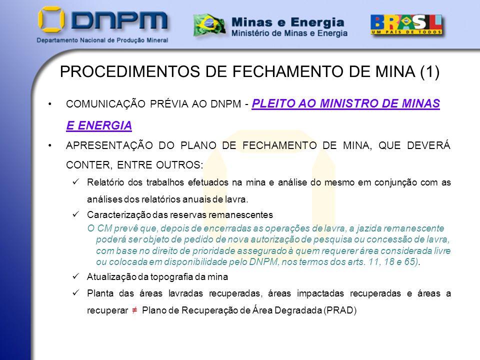 PROCEDIMENTOS DE FECHAMENTO DE MINA (1)