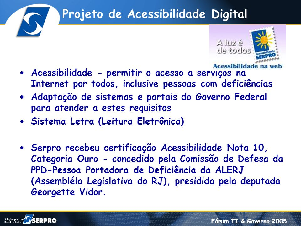 Projeto de Acessibilidade Digital