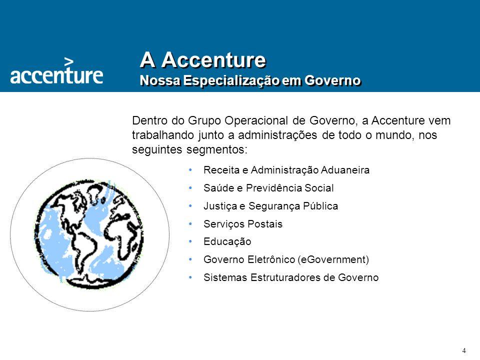 A Accenture Nossa Especialização em Governo