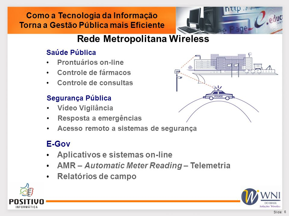 Rede Metropolitana Wireless