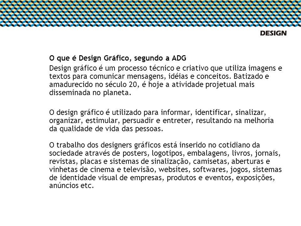 O que é Design Gráfico, segundo a ADG