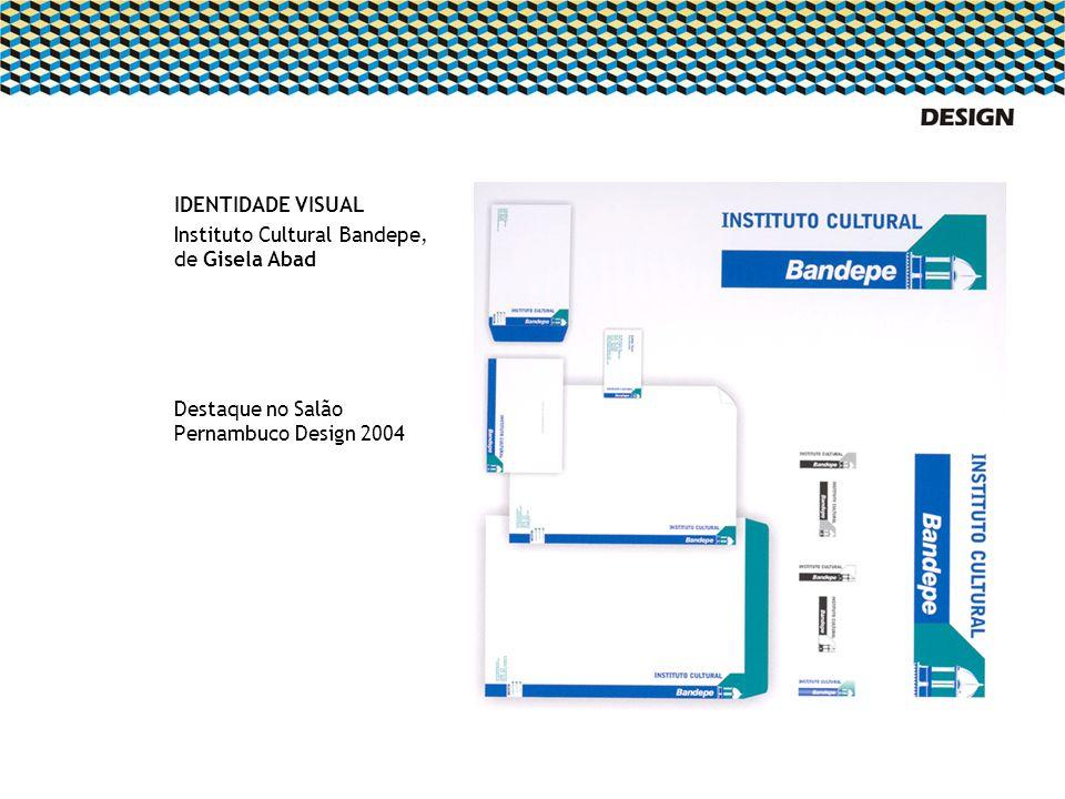 IDENTIDADE VISUAL Instituto Cultural Bandepe, de Gisela Abad.