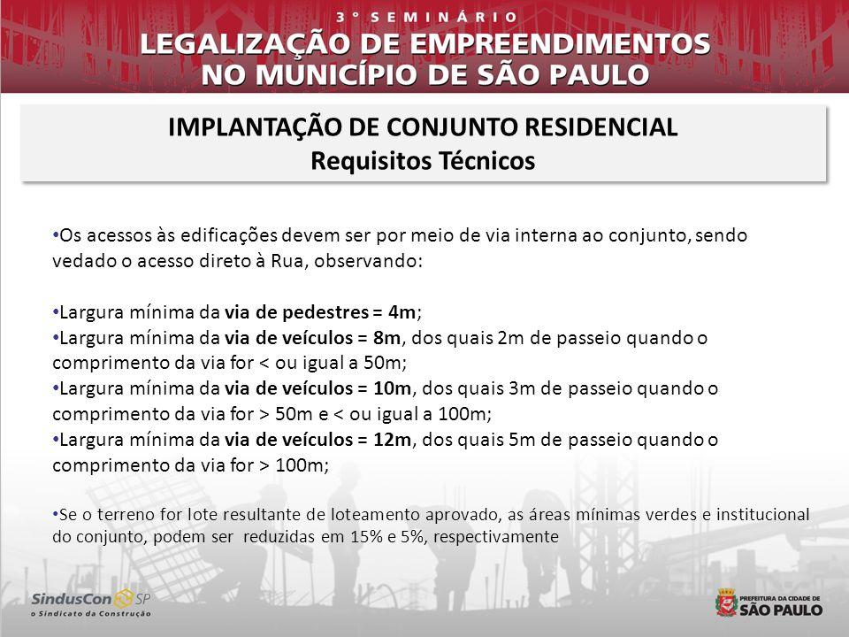 IMPLANTAÇÃO DE CONJUNTO RESIDENCIAL