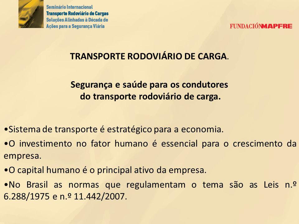 TRANSPORTE RODOVIÁRIO DE CARGA.