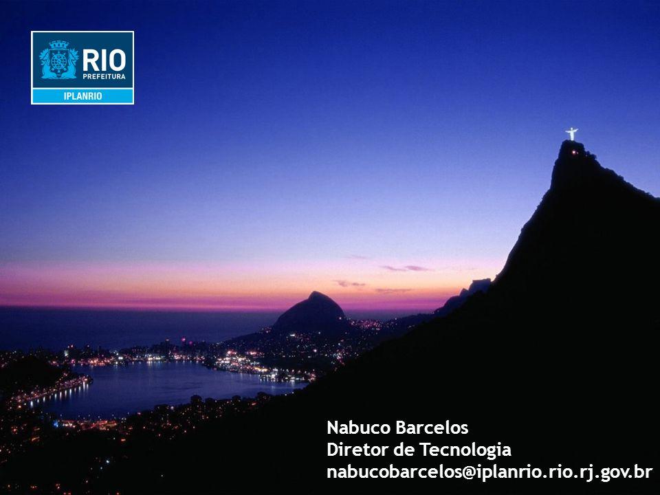IPLANRIO Nabuco Barcelos Diretor de Tecnologia