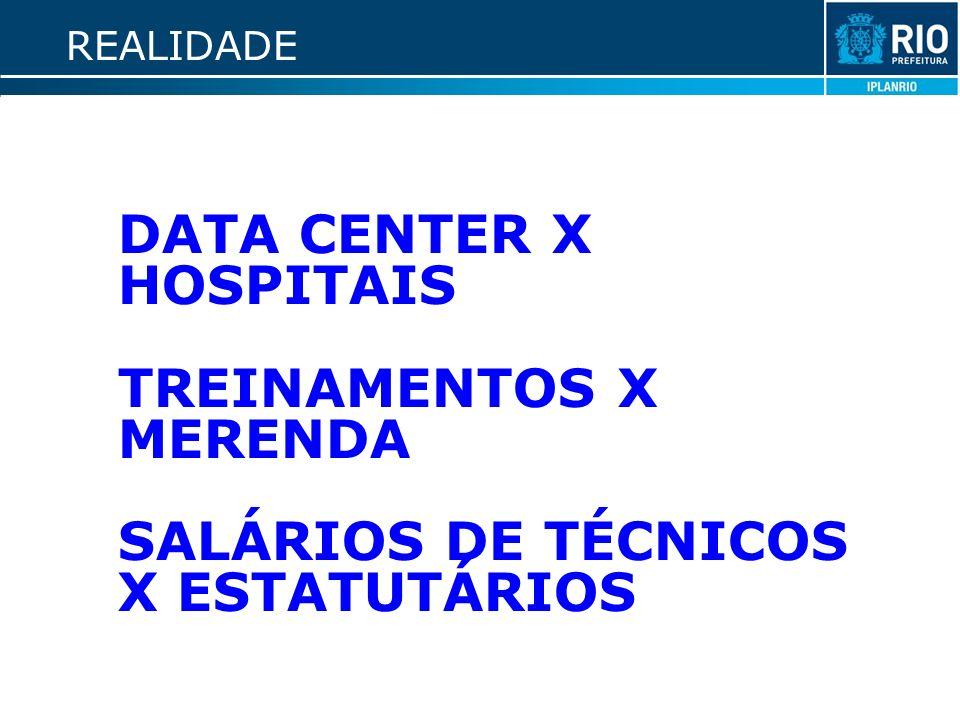 TREINAMENTOS X MERENDA SALÁRIOS DE TÉCNICOS X ESTATUTÁRIOS