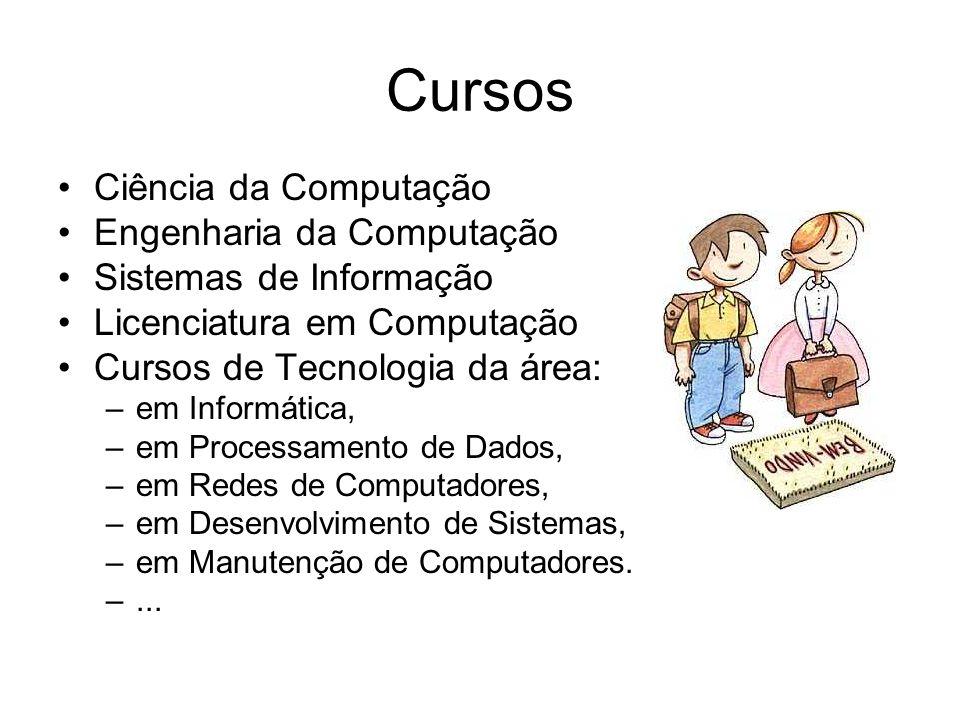 Cursos Ciência da Computação Engenharia da Computação