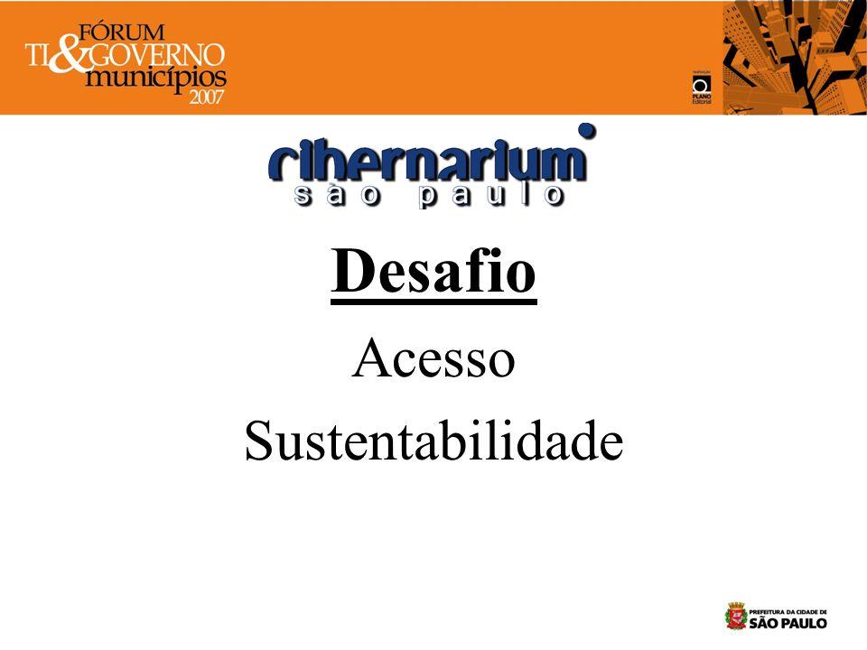 Desafio Acesso Sustentabilidade