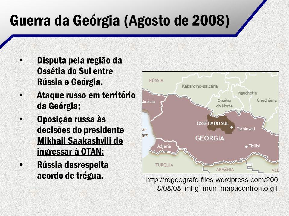 Guerra da Geórgia (Agosto de 2008)