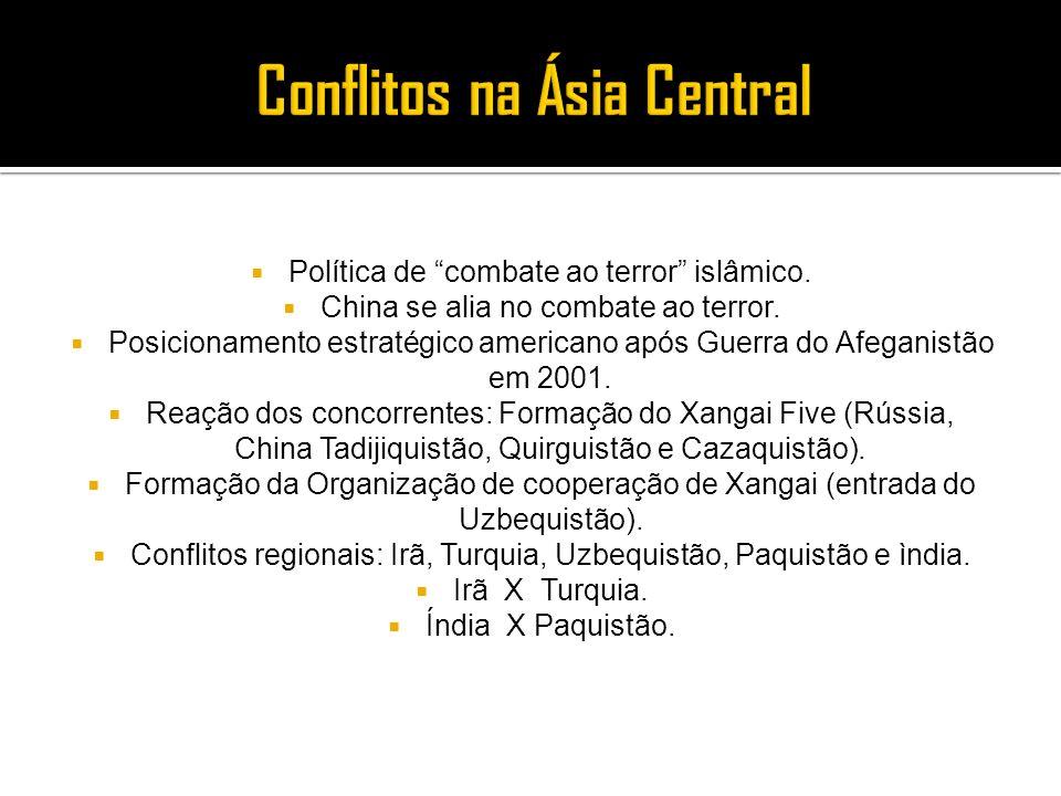 Conflitos na Ásia Central
