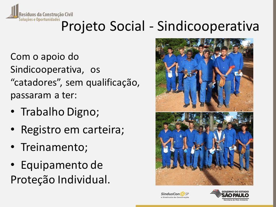 Projeto Social - Sindicooperativa