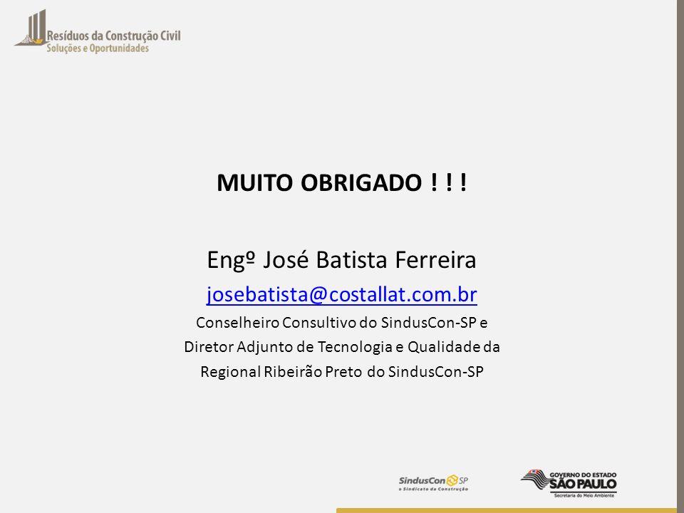 Engº José Batista Ferreira