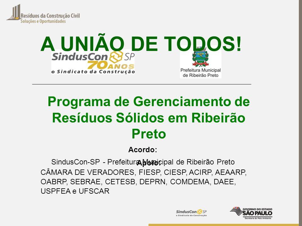 Programa de Gerenciamento de Resíduos Sólidos em Ribeirão Preto
