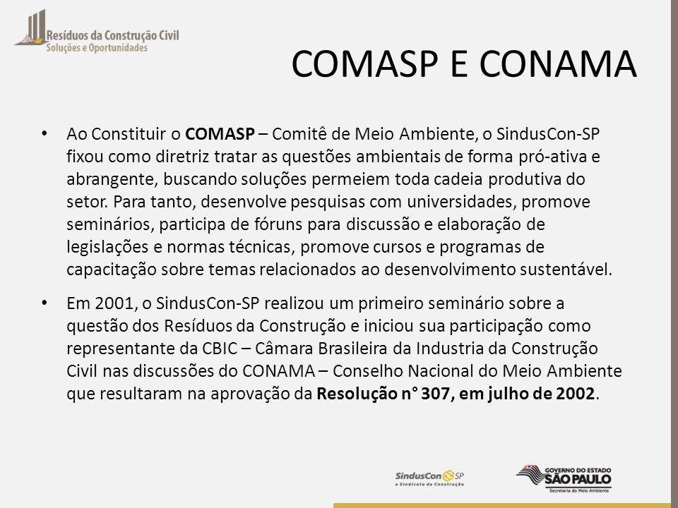 COMASP E CONAMA