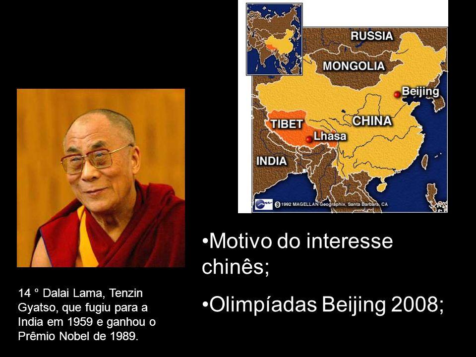 Motivo do interesse chinês; Olimpíadas Beijing 2008;