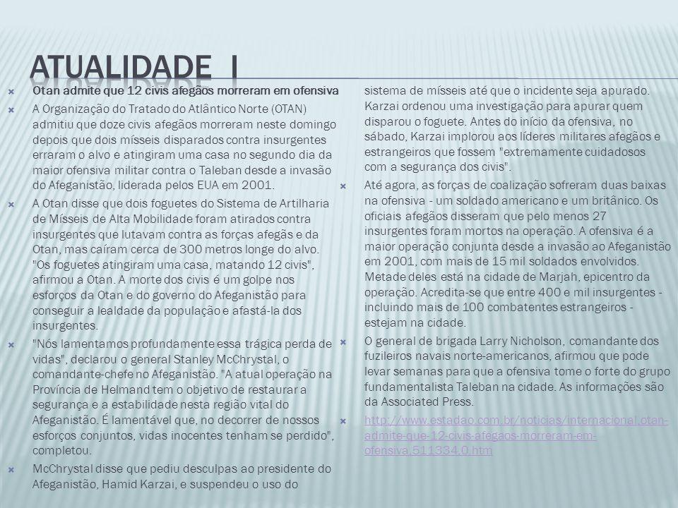 ATUALIDADE I