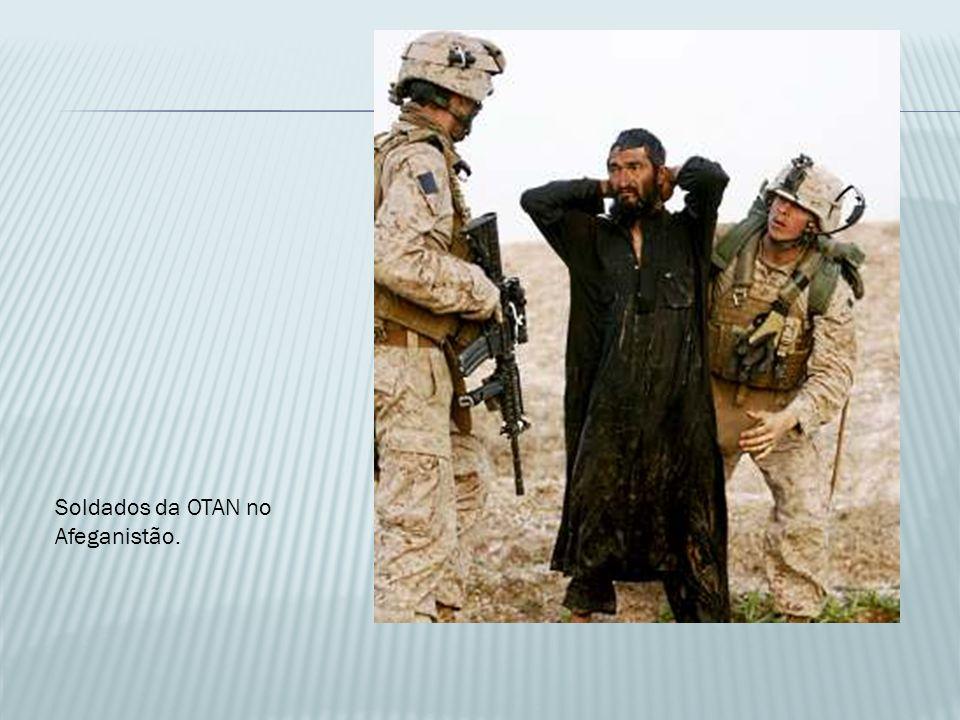 Soldados da OTAN no Afeganistão.
