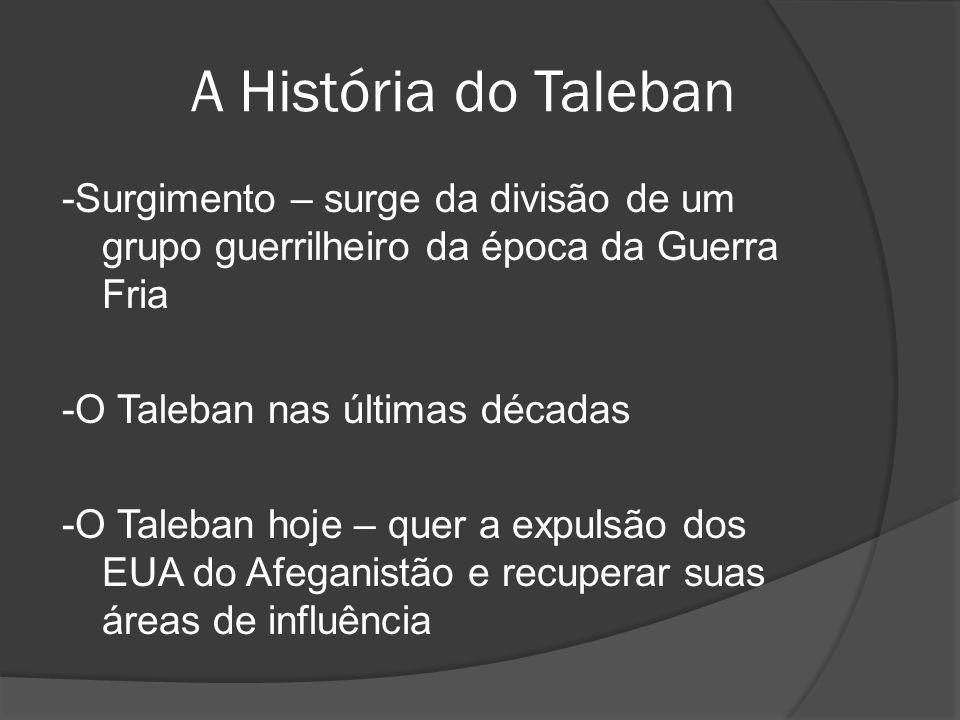 A História do Taleban