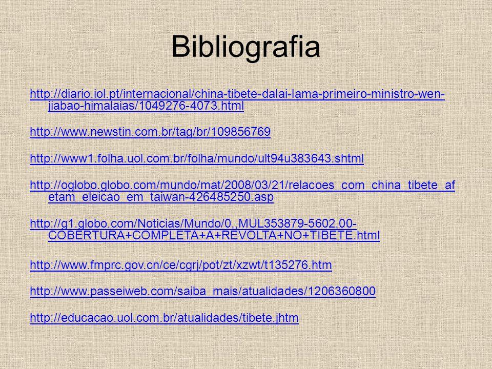 Bibliografia http://diario.iol.pt/internacional/china-tibete-dalai-lama-primeiro-ministro-wen-jiabao-himalaias/1049276-4073.html
