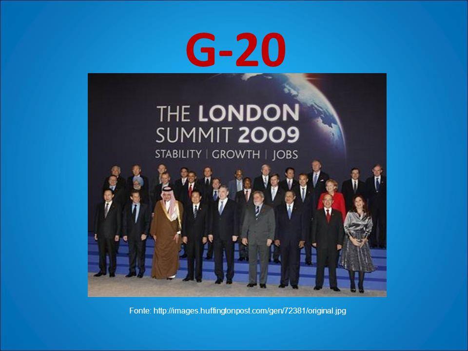 G-20 Fonte: http://images.huffingtonpost.com/gen/72381/original.jpg