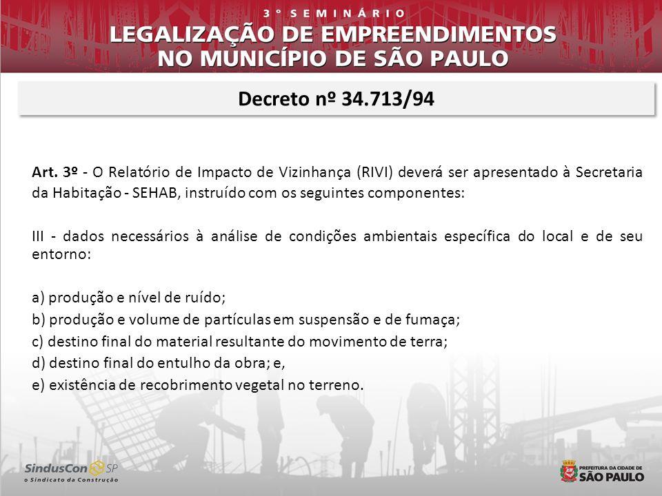 Decreto nº 34.713/94